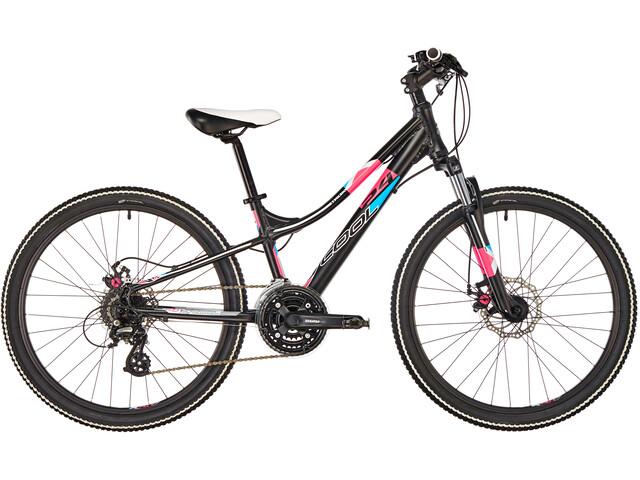s'cool troX pro 24 24-S Børnecykel sort (2019)   City-cykler